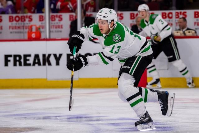 NHL: APR 05 Stars at Blackhawks