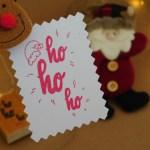 Carimbo TAG – Natal  Hohoho