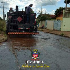 Recapeamento Jardim Boa Vista Prefeitura Orlandia 2018