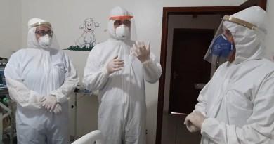 Hospital Santa Rita conta com quartos de internação e sala de emergência para pacientes com Covid-19