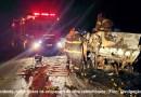 Acidente mata cinco pessoas na Rodovia Altino Arantes, em Batatais