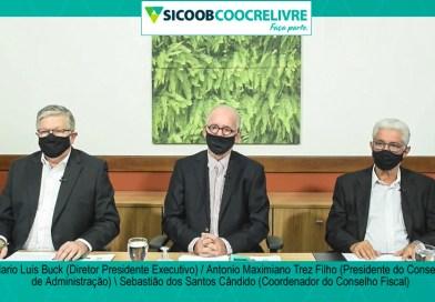 Sicoob Coocrelivre realiza sua primeira AGO e AGE Digital