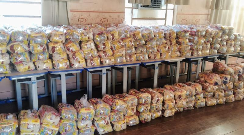 Prefeitura de Orlândia já entregou 18.000 Kits de Alimentação Escolar