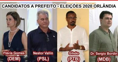 Orlândia define 4 candidatos a prefeito nas eleições municipais 2020