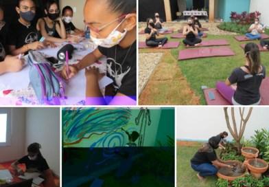 Com expedições à Casa Sensorial alunos das Oficinas de Artes Usina da Dança do IORM participam do processo de criação do Espetáculo 2021
