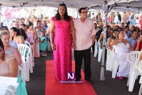 Carlos Alberto Capel e Edilene Santos-casamento