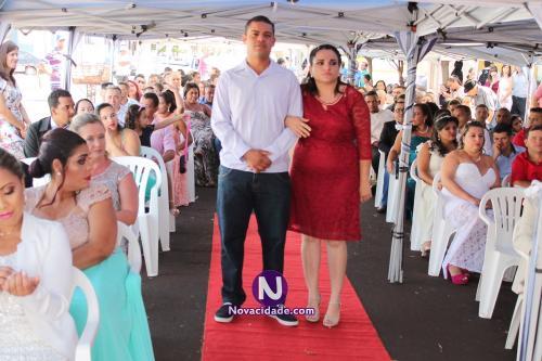 Ezequiel Jose Oliveira e Cintia Fernanda Silva-casamento