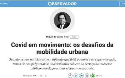 Covid em movimento: os desafios da mobilidade urbana
