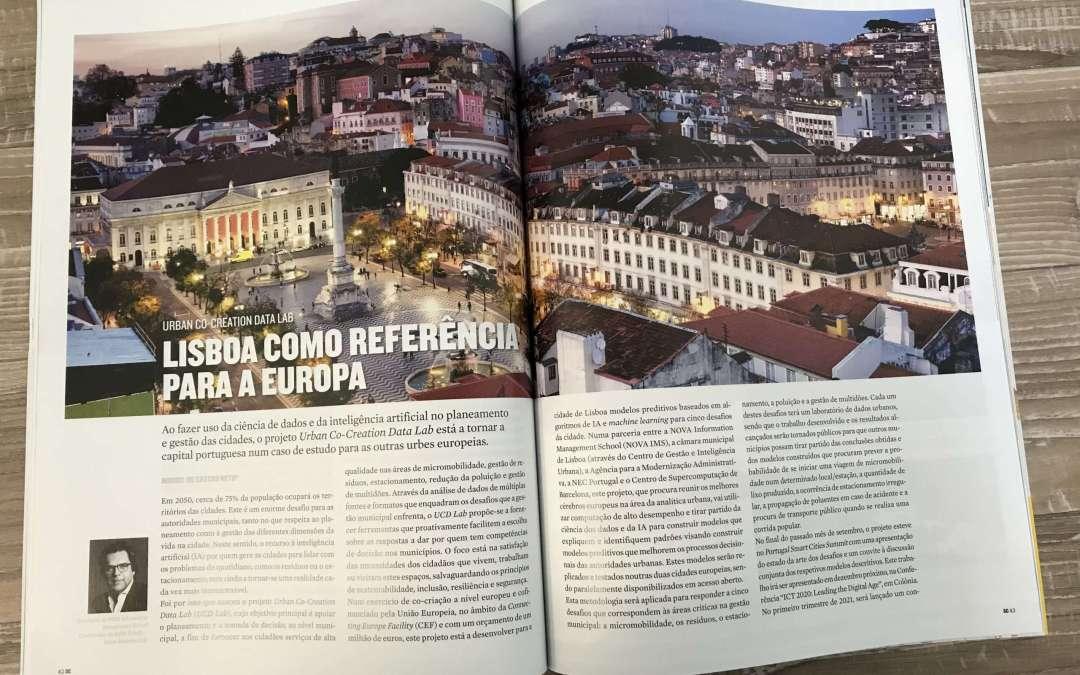 Projeto Urban Co-creation Data Lab – Lisboa como referencia para a União Europeia