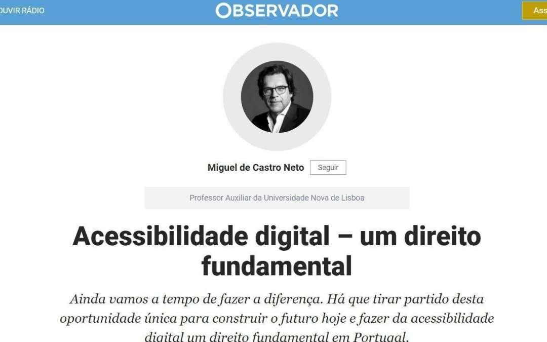 Acessibilidade digital – um direito fundamental
