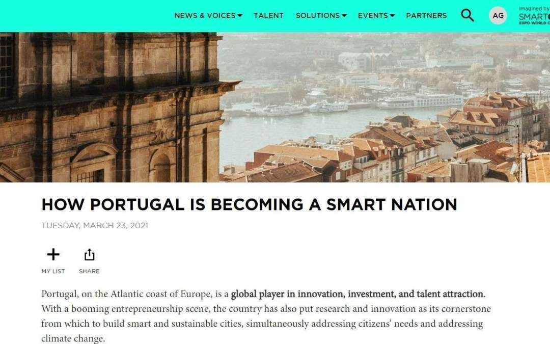 HOW PORTUGAL IS BECOMING A SMART NATION