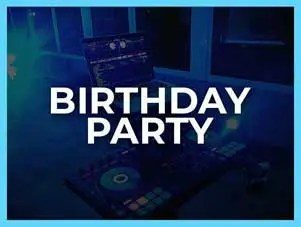 Birthday DJ Hire
