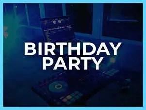 Birthday DJ Hire