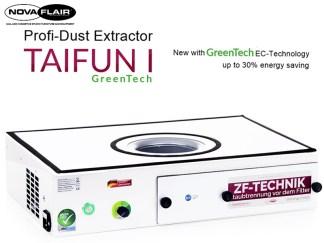 Taifun 1 Professional Nail Salon Dust Filtration System Nova Flair UK