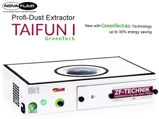 Taifun 1 Professional Nail Salon Dust Filtration System Nova Flair UK