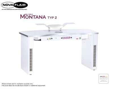 Montana Nail Table Type 2 Nova Flair UK 2