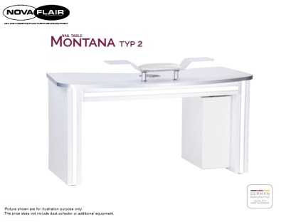 Montana Nail Table Type 2 Nova Flair UK 4