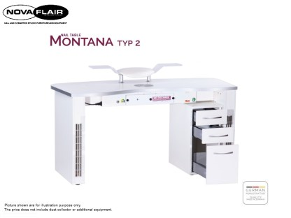 Montana Nail Table Type 2 Nova Flair UK 7