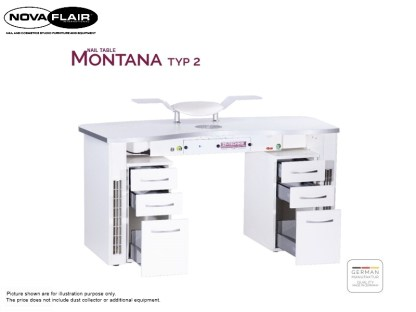 Montana Nail Table Type 2 Nova Flair UK 9