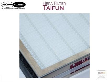 Hepa H13 Filter High Performance Dust Filtering Nova Flair UK. Made in Germany. Taifun 1, Taifun 1 Premium, Taifun 2 Premium, Taifun 3.