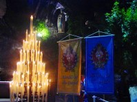 Slide No 09 Lourdes Grotto night