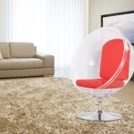 Ball Acrylic Chair Occasional Chairs Modern Occasional