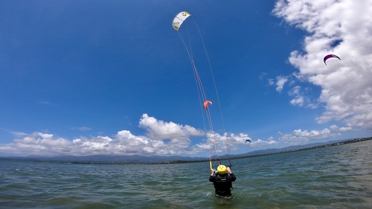 kitesurf guadeloupe cours collectif