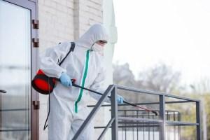 désinfection bases vie de chantier 