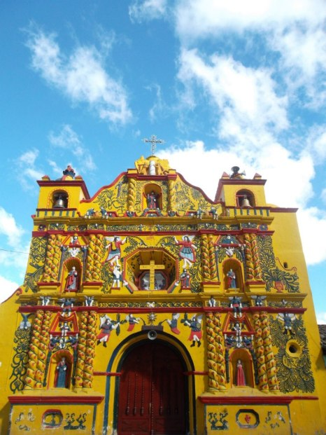 Church of San Andrés Xecul.