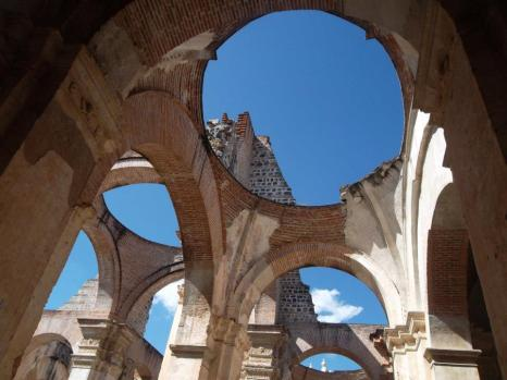 Ruins of an old Cathedral, Antigua.