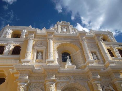 The church of La Merced, Antigua.