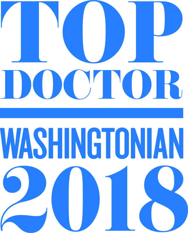 Washingtonian Magazine's Top Doctors 2018-Dr. Bradford Pontz