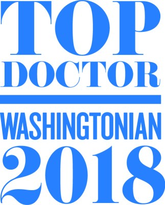Washingtonian Magazine's Top Doctors 2018-Bradford Pontz, MD