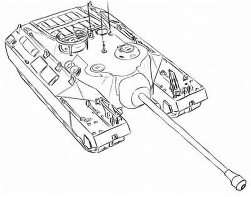Πώς να σχεδιάσετε μια δεξαμενή με ένα απλό μολύβι