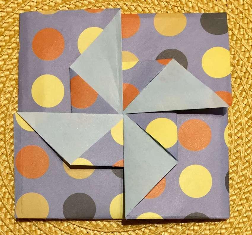 Origami zarf tato