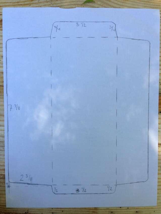 как сделать большой бумажный конверт