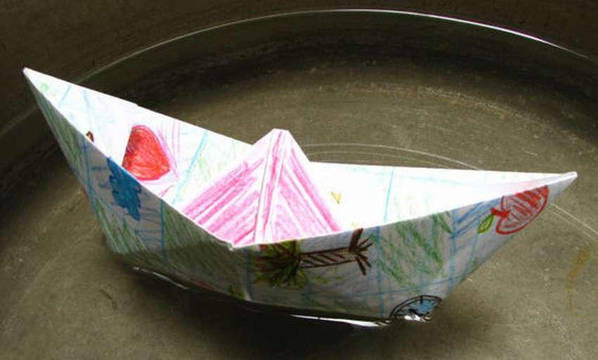 papieren boot sap