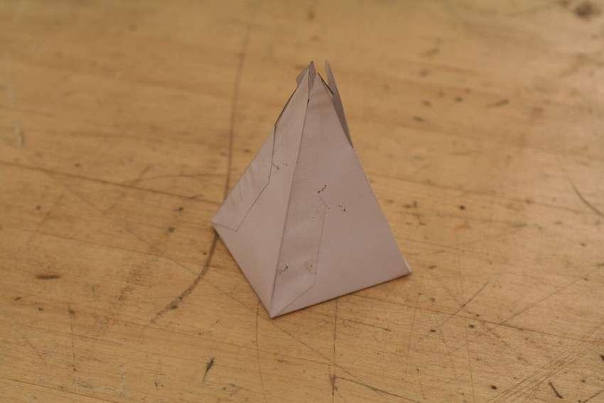 Papieren piramide