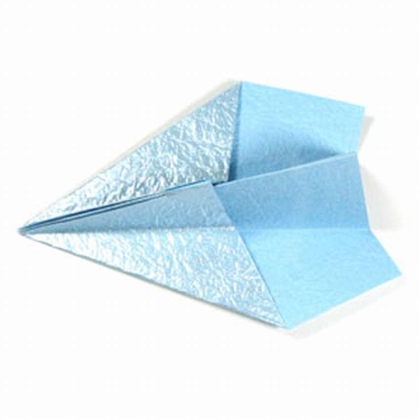 Қарапайым ұшақ оригами