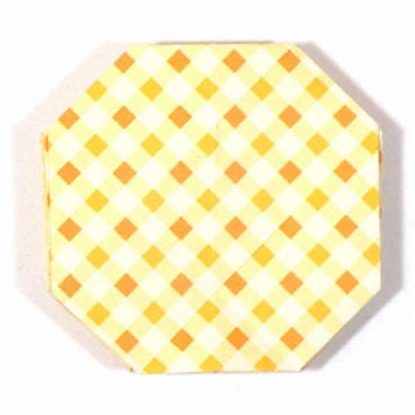шар оригами схема