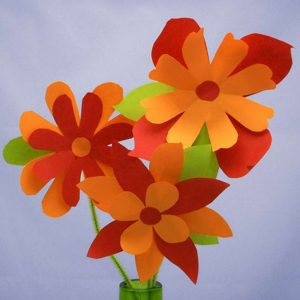 how to make a paper flower for beginners