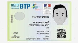 nouvelle carte d'identification professionnelle BTP