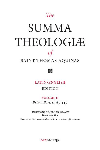 Summa Volume II