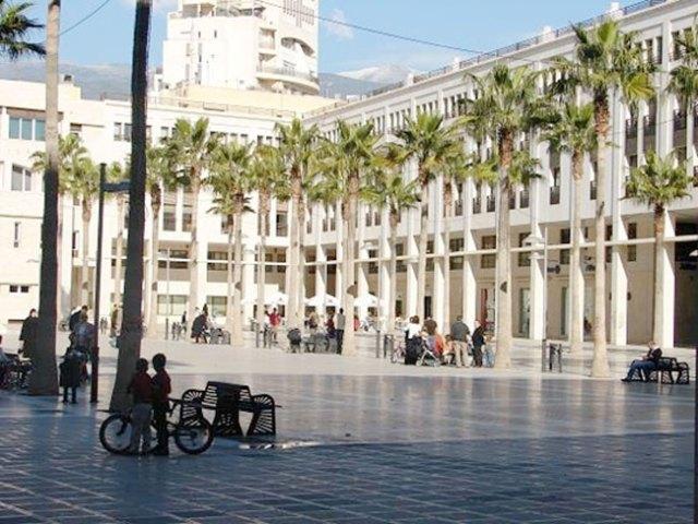 Plaza Mayor de El Ejido.