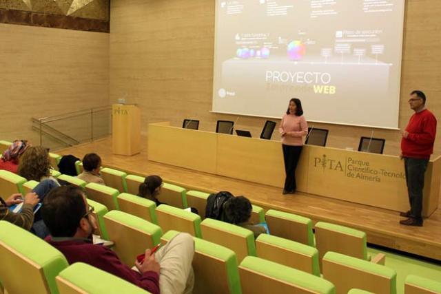 Jornada inaugural de Emprendeweb en el PITA.