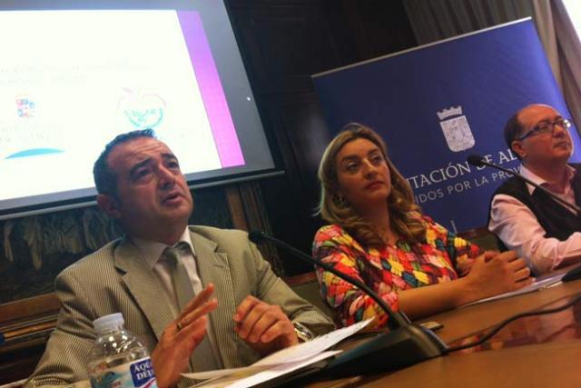 Enrique de Amo, María López y Juan José Moreno.