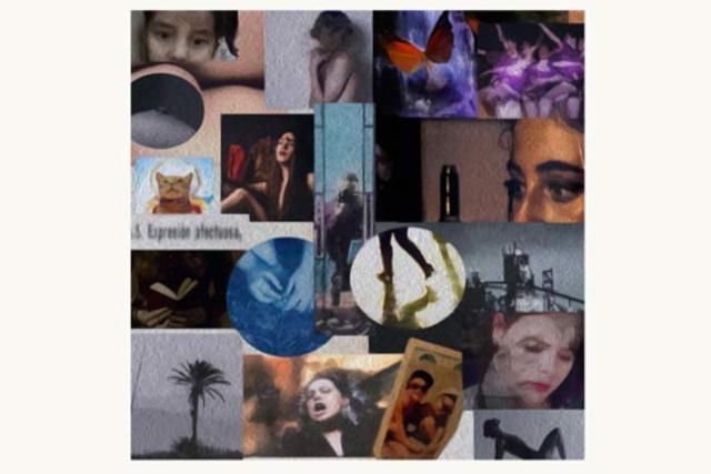 Collage con las obras participantes. Elena Pedrosa.