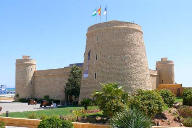 Castillo de Santa Ana.