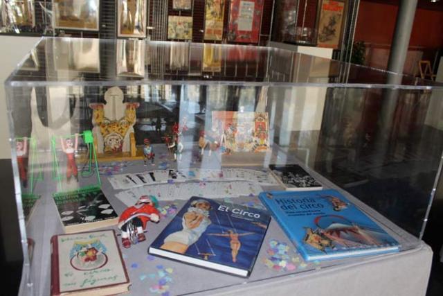 Exposición sobre el circo enmarcada en el Festival de Teatro de El Ejido.