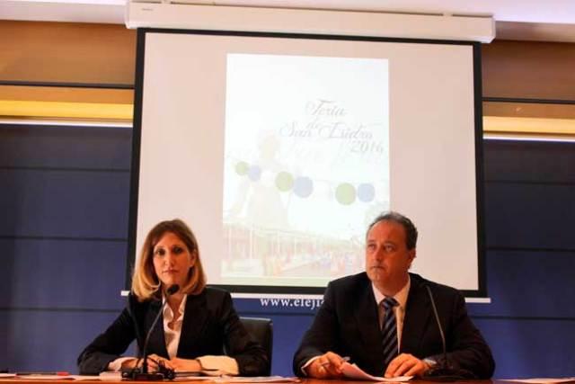 Julia Ibáñez y José Francisco Rivera.